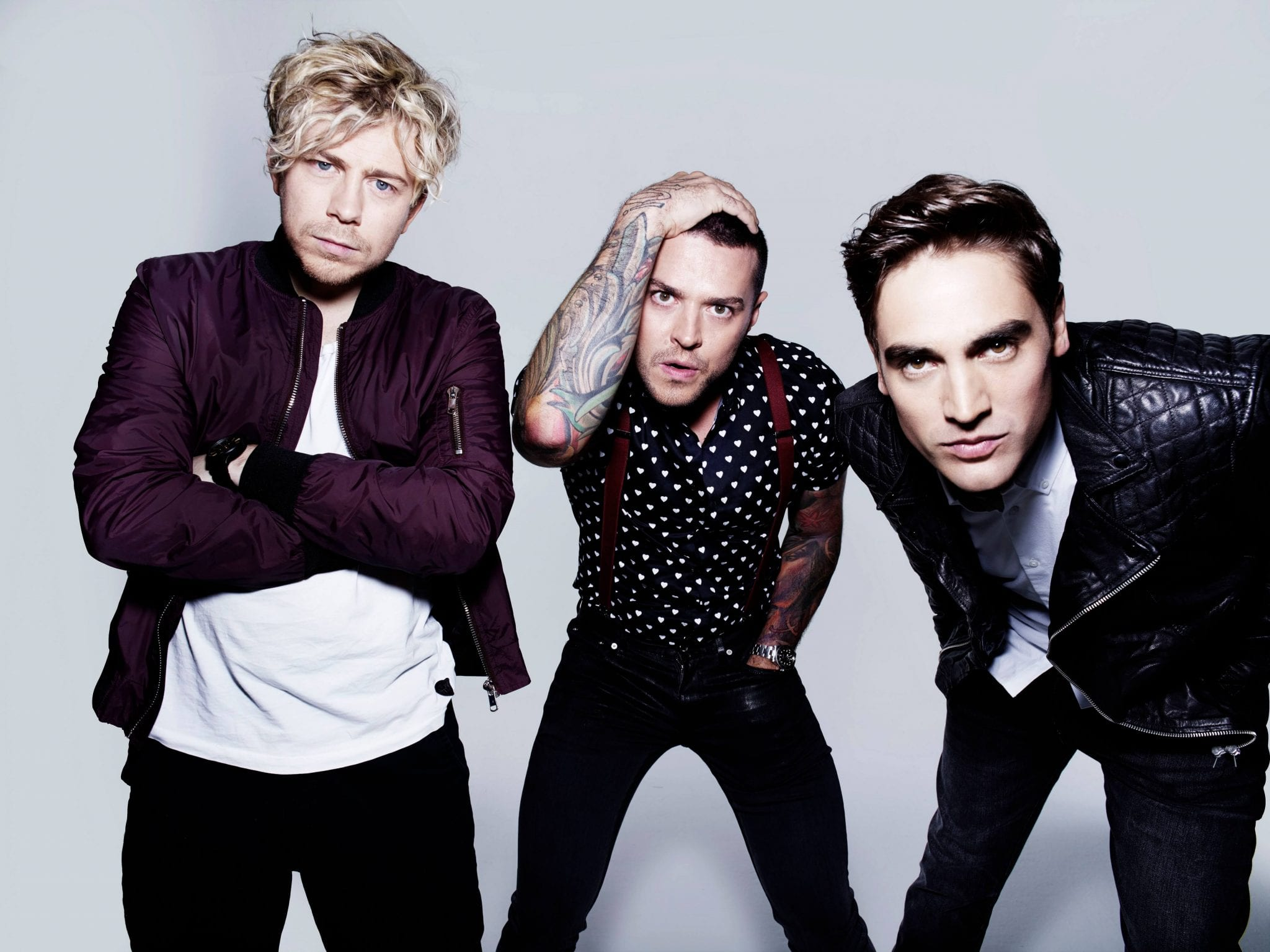 Busted Are Back And Live At Scarborough OAT