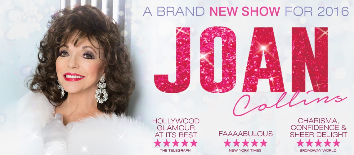 Joan Collins Heads Out On Brand New 2016 UK Tour