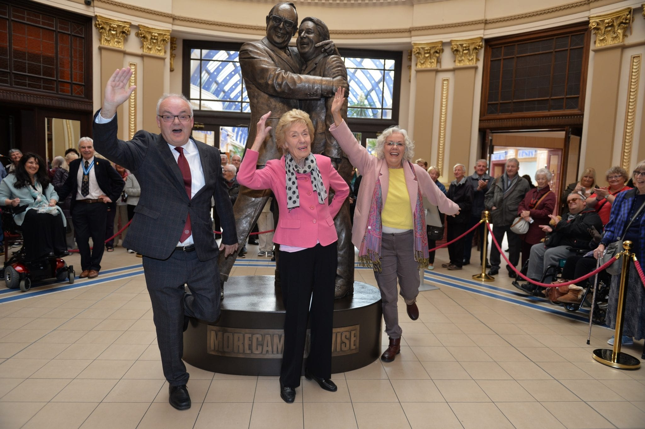 Morecambe and Wise Statue Unveiled in Blackpool