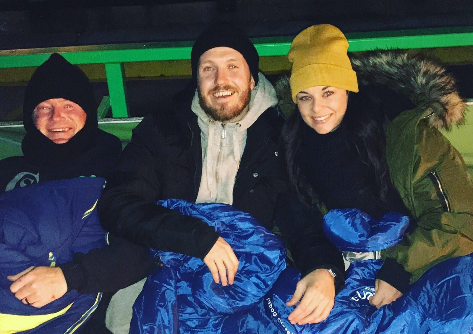Champion Scott Sleeps Under Stars To Help Homeless