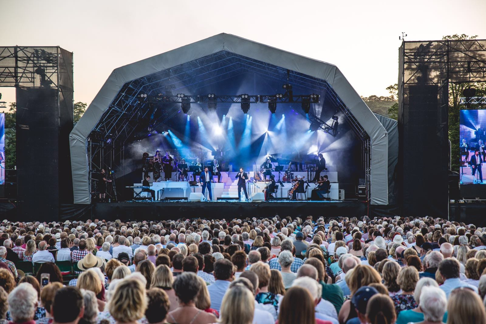 MICHAEL BALL AND ALFIE BOE SET FOR 'MAGICAL' OUTDOOR CONCERTS