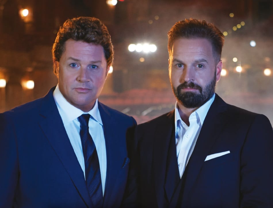 MICHAEL BALL & ALFIE BOE ANNOUNCE 'TOGETHER AGAIN' TOUR DATES FOR 2017