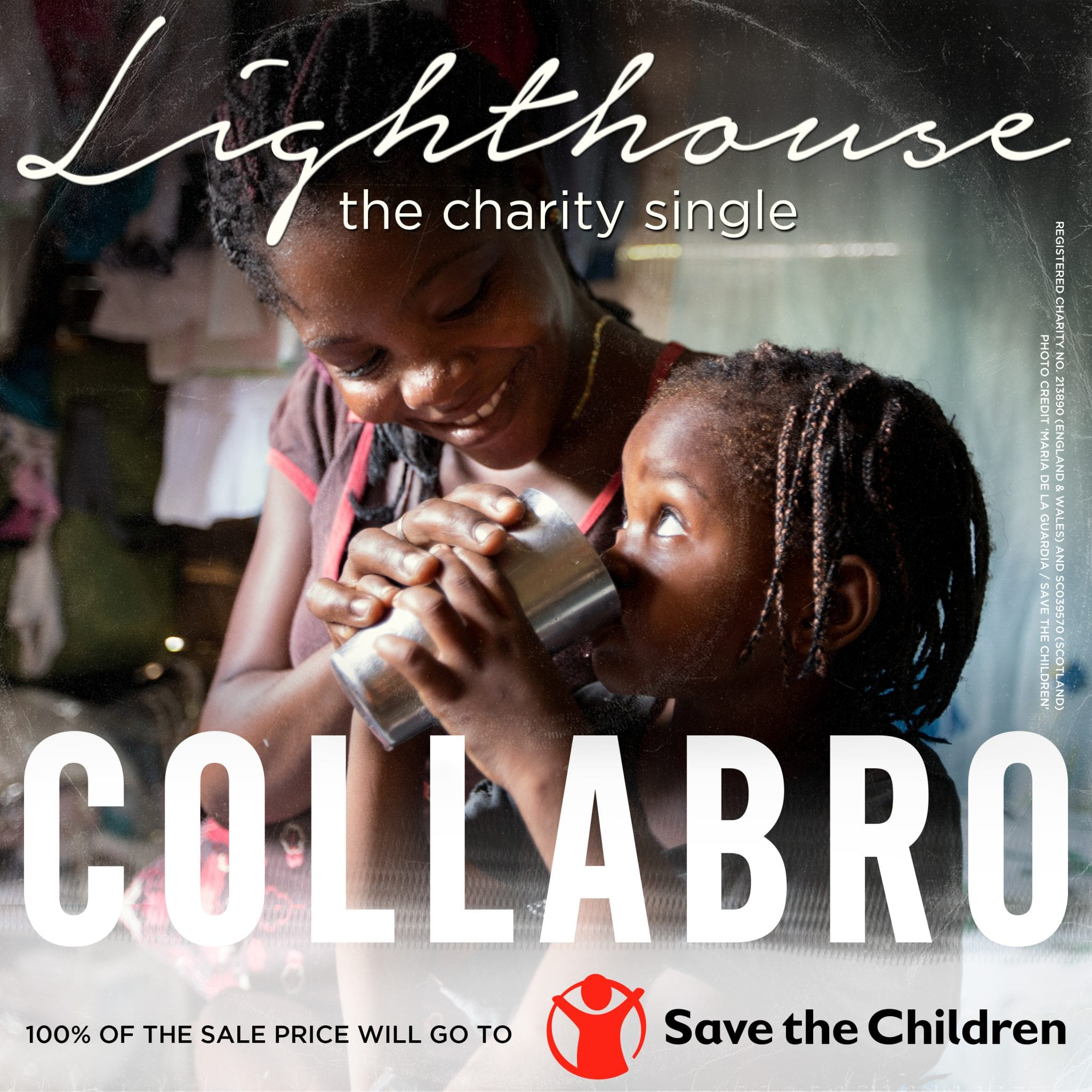 COLLABRO RELEASE FIRST EVER SINGLE 'LIGHTHOUSE' IN AID OF SAVE THE CHILDREN FUND