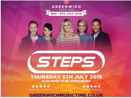 POP SUPERSTARS STEPS TO PLAY GREENWICH MUSIC TIME 2018
