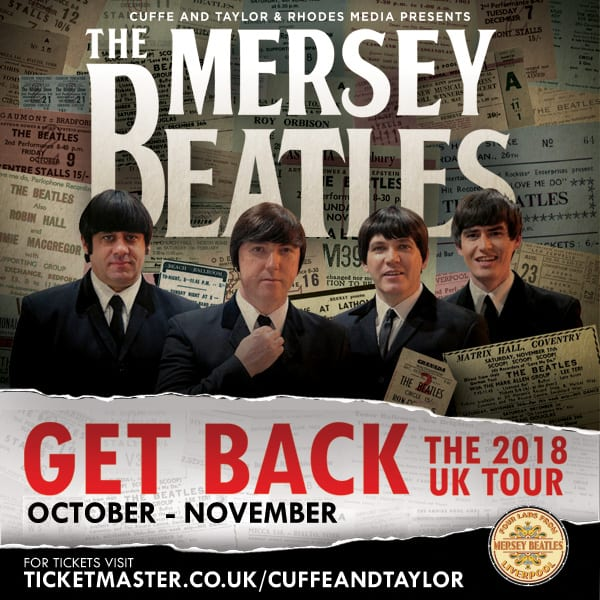 Following In The Footsteps Of Their Heroes – THE MERSEY BEATLES Announce Biggest Ever UK Tour