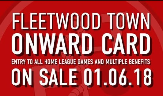 ONWARD TOGETHER – Fleetwood Town Launches New Onward Card