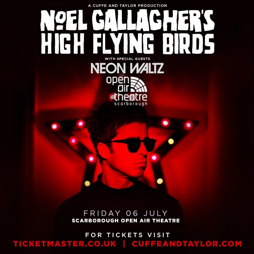 noel gallagher 2018 tour support NEON WALTZ TO SUPPORT NOEL GALLAGHER'S HIGH FLYING BIRDS AT  noel gallagher 2018 tour support