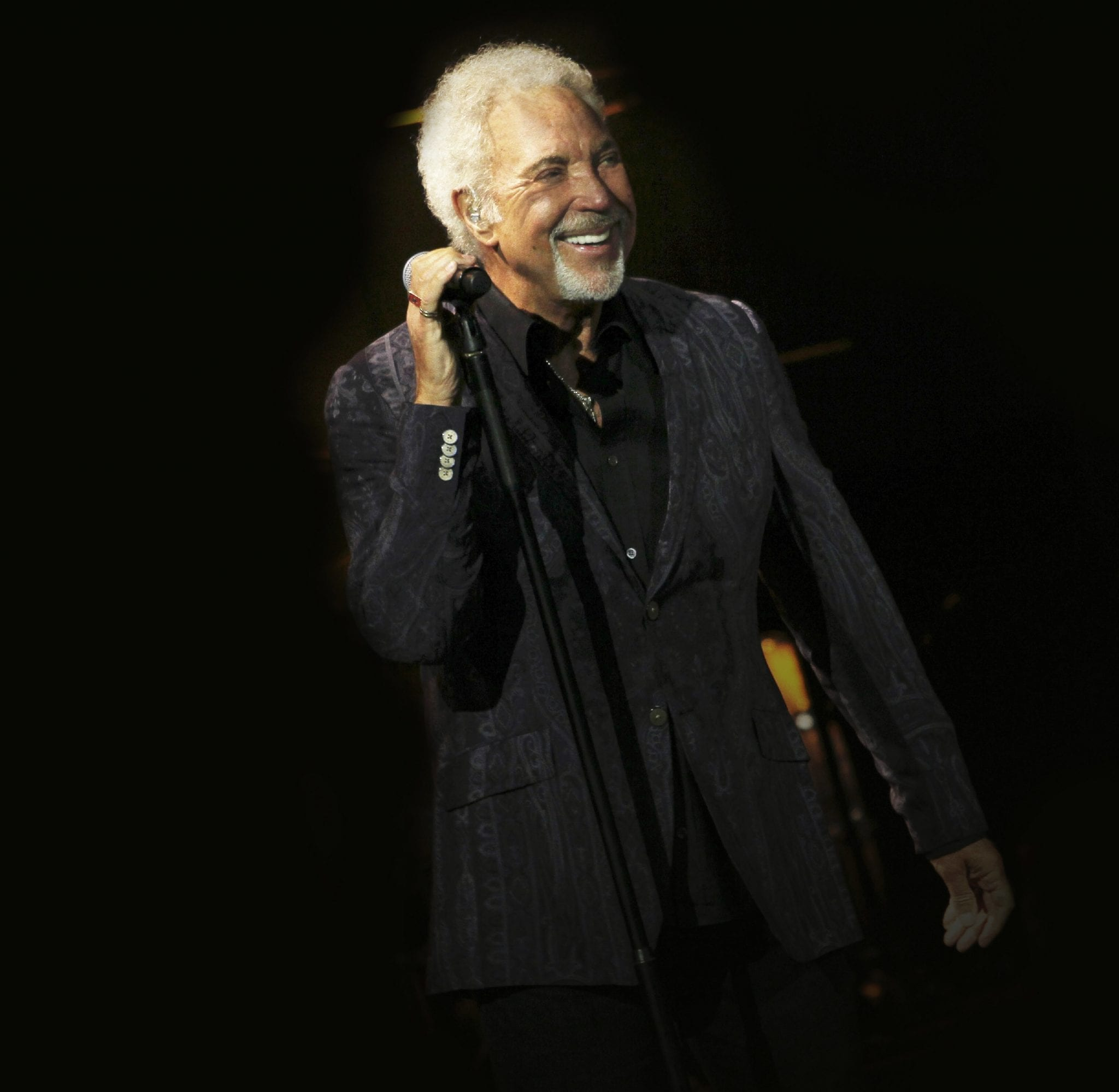 Tom Jones says 'get ready for the expected and the unexpected this summer'
