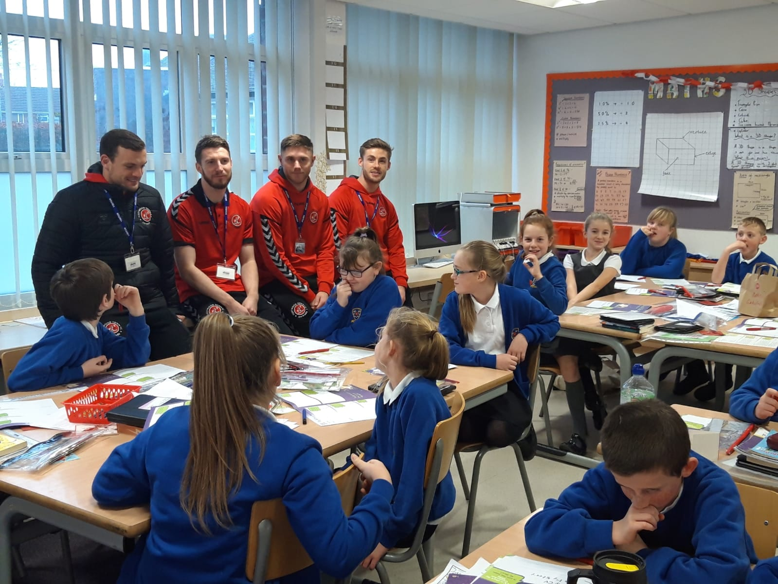 FTFC Community Trust Teams Up With Co-op  For Project To Help Schoolchildren