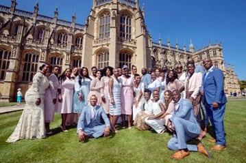 ROYAL WEDDING GOSPEL SINGERS THE KINGDOM CHOIR HEADING OUT ON UK TOUR