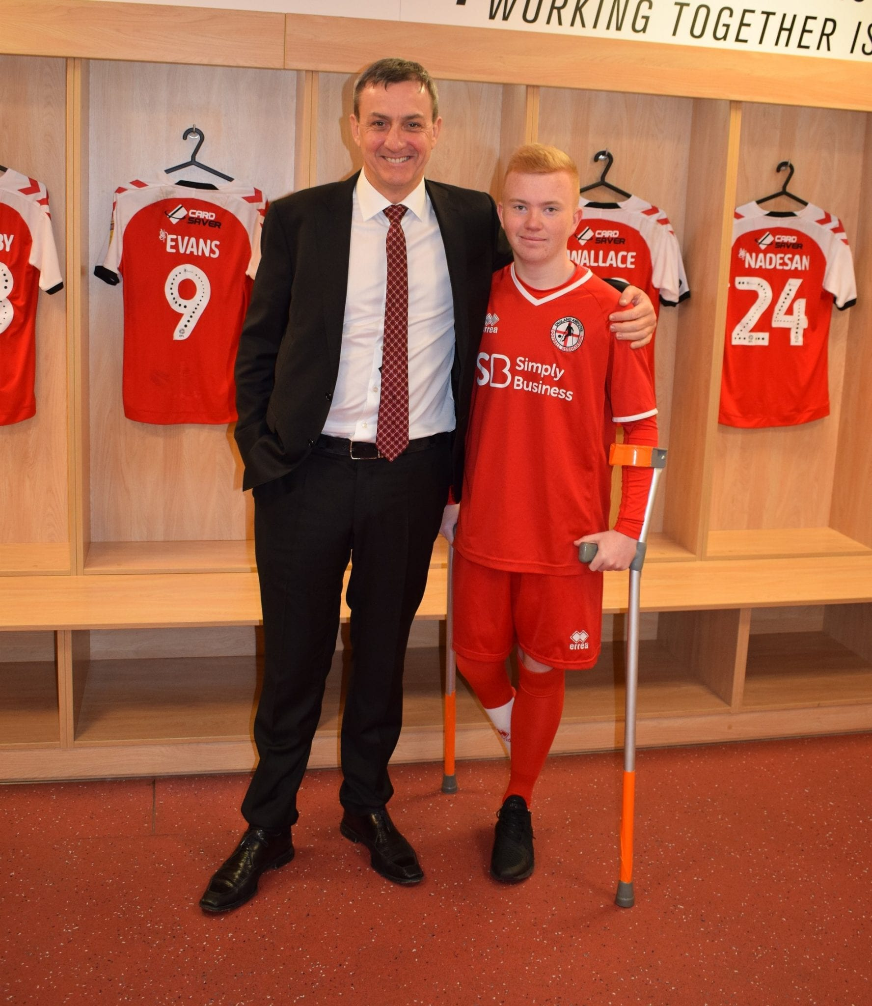 Jamie's Story Inspires Cod Army To Back England's Young Amputee Footballers