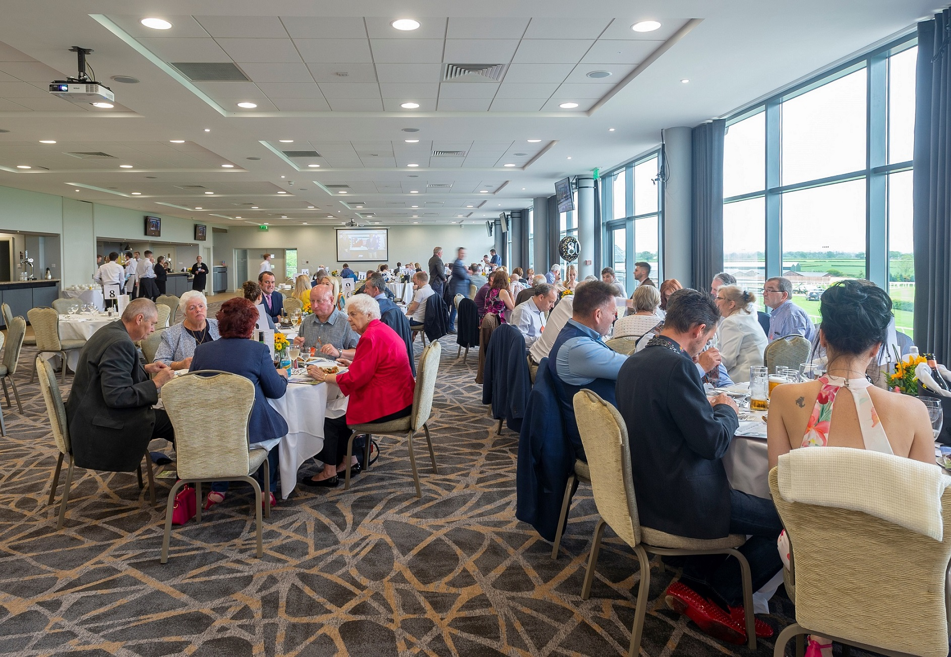 Racecourse unveils stunning new restaurant and conference facilities