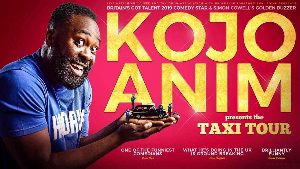 Britain's Got Talent Golden Buzzer Comedian Kojo Anim Launches 26-Date Debut Solo Tour