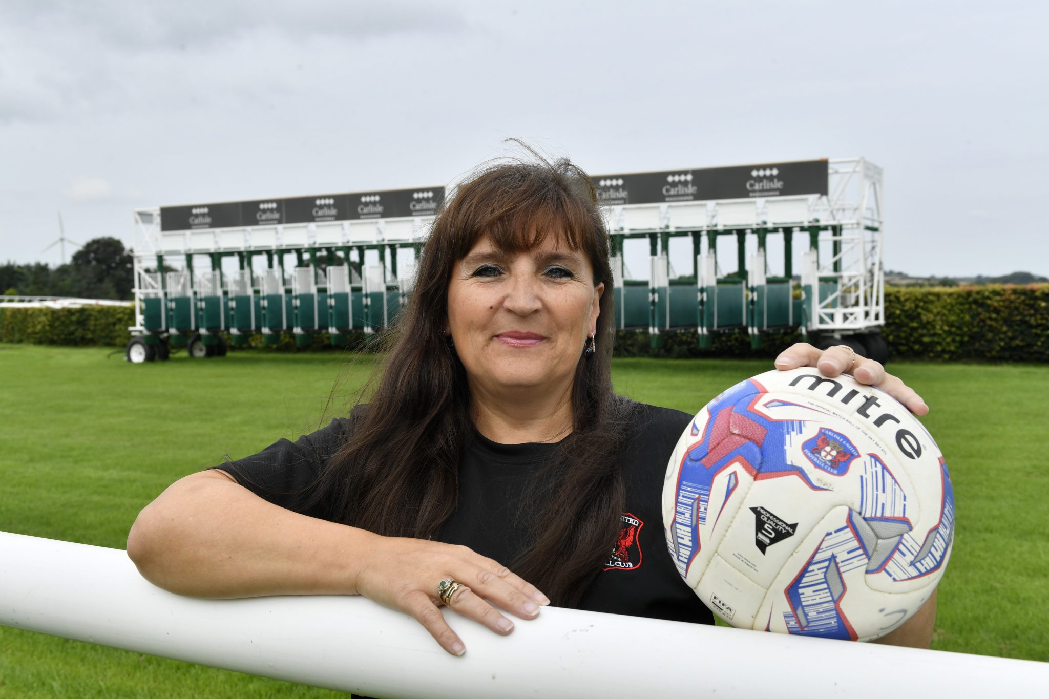 Tracy Gannon named Carlisle Racecourse's Inspirational Woman of The Year