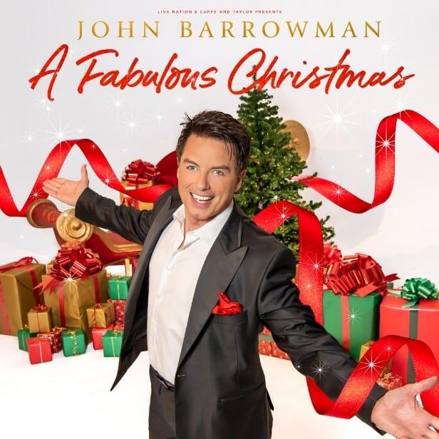 JOHN BARROWMAN ANNOUNCES FABULOUSLY FESTIVE CHRISTMAS TOUR