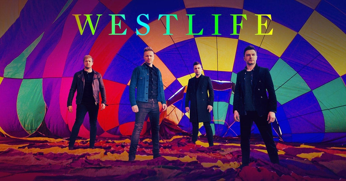 WESTLIFE ANNOUNCE 2020 'STADIUMS IN THE SUMMER' TOUR