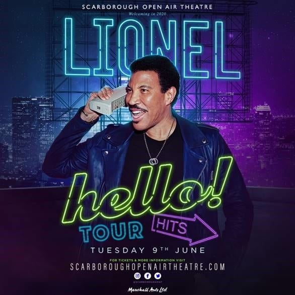 Lionel Richie is back for an unforgettable night