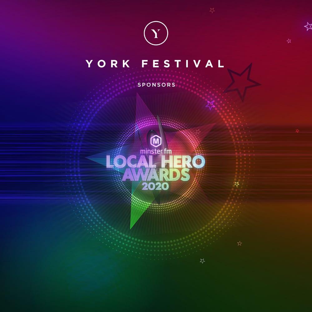 YORK FESTIVAL NAMED HEADLINE SPONSOR LOCAL HERO AWARDS 2020