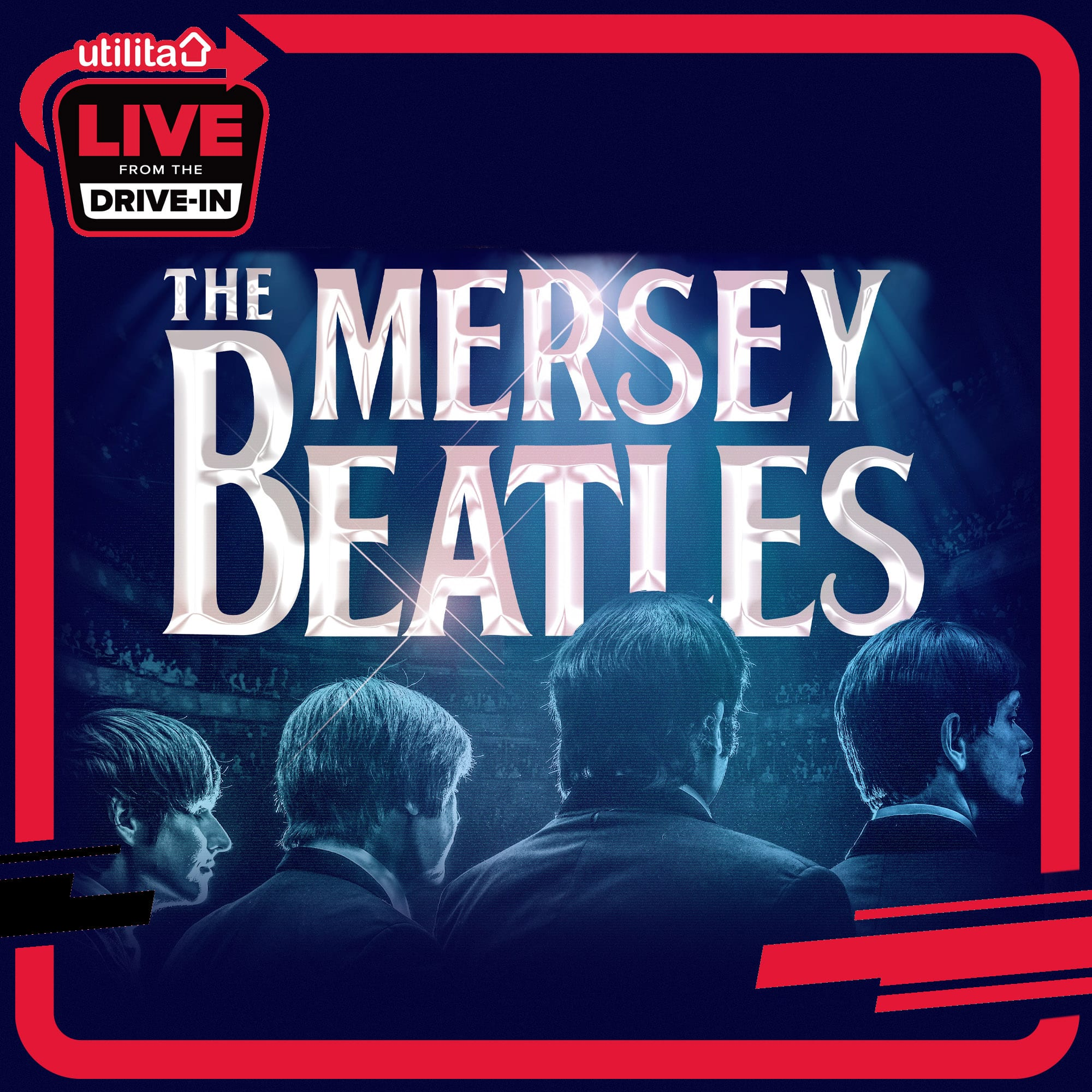 THE MERSEY BEATLES JOIN 'UTILITA LIVE FROM THE DRIVE-IN' SERIES