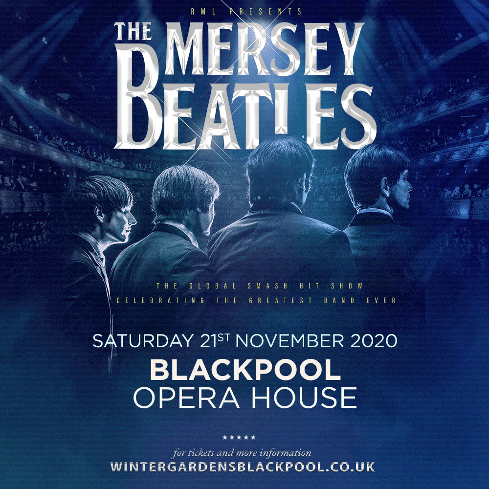 GET READY TO 'TWIST AND SHOUT' – THE MERSEY BEATLES  ARE HEADING TO BLACKPOOL