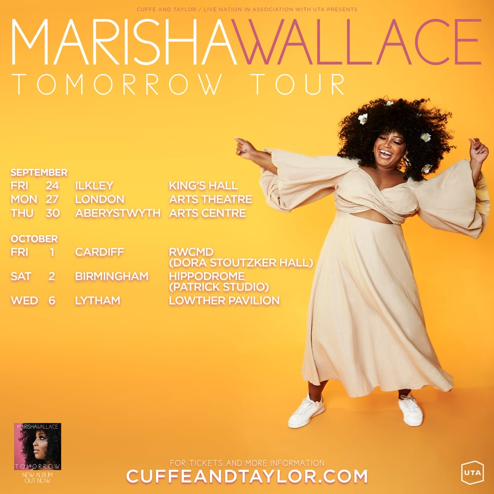MARISHA WALLACE HEADS OUT ON AUTUMN 2021 TOUR