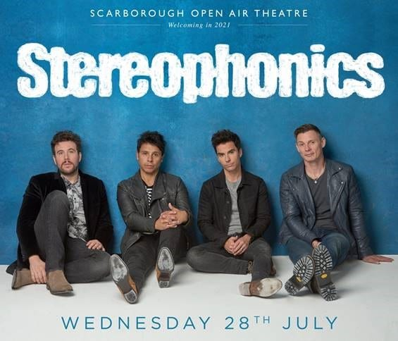 STEREOPHONICS ANNOUNCE NEW SUMMER 2021 HEADLINE SHOW