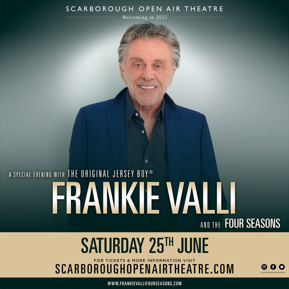 'Oh, What A Night' in prospect as music icon Frankie Valli heads to the Yorkshire coast