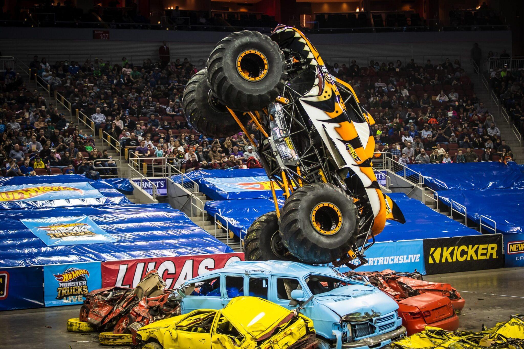 Hot Wheels Monster Trucks Live Returns to Europe with All-New Trucks for 2022