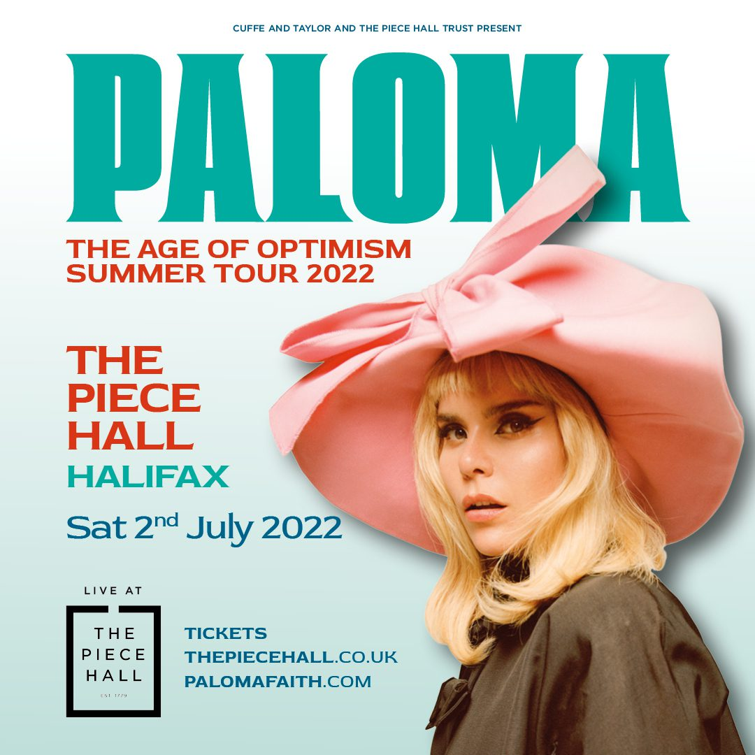 Paloma Faith Announces Date At The Piece Hall As Part Of 2022 UK Summer Tour